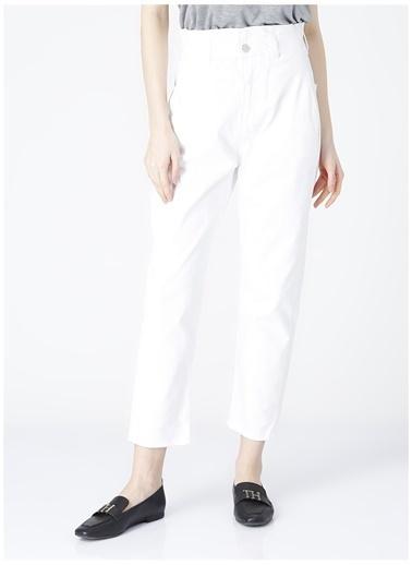 Fabrika Fabrika Dabne Beyaz Kadın Denim Pantolon Beyaz